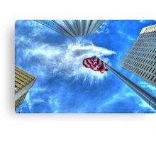 Look up Patriot Canvas Print