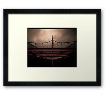 Moody Bridge Framed Print