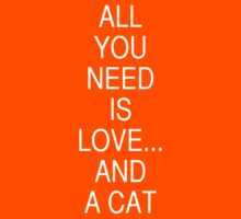 All you need is love ... and a cat by dadawan