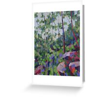 Trees & Rocks Greeting Card