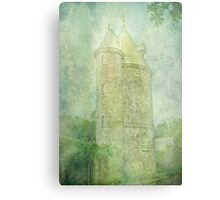 Trelissick Towers in Pastel Canvas Print