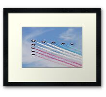 The Red Arrows at Airbourne Framed Print