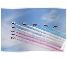 The Red Arrows at Airbourne Poster