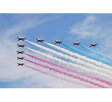 The Red Arrows at Airbourne Photographic Print