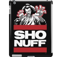 Sho Nuff old school  iPad Case/Skin