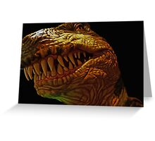 TREX Portrait Greeting Card