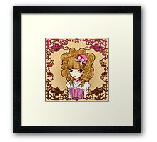 Lolita in Pink Framed Print