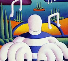 Piano Jazzman by Alan Kenny