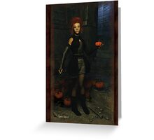 The Place of Pumpkins Greeting Card