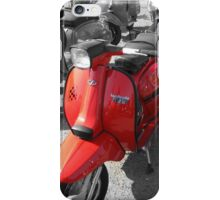 Scooter-2 iPhone Case/Skin