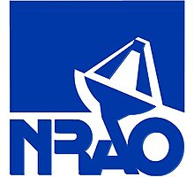 National Radio Astronomy Observatory (NRAO) Logo Photographic Print