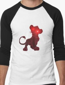 wickedness of a small tiger 2 Men's Baseball ¾ T-Shirt
