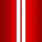 Red Car Stripes by Alisdair Binning