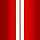 Red Car Stripes by abinning