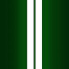 British Racing Green Car Stripes by abinning