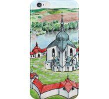 Pilgrimage Church of Saint John of Nepomuk iPhone Case/Skin