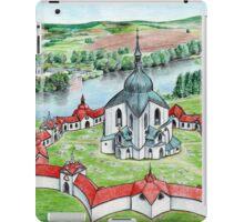 Pilgrimage Church of Saint John of Nepomuk iPad Case/Skin