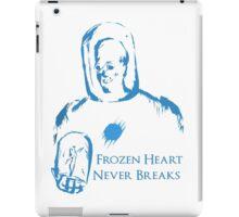 Mr Freeze FHND White iPad Case/Skin