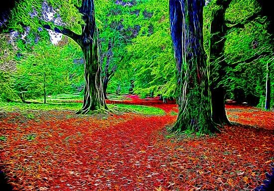 Fractalius Woods by Trevor Kersley