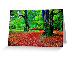 Fractalius Woods Greeting Card