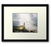Seek the Mystery. Framed Print