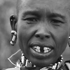 Maasai Female Elder by Jill Fisher