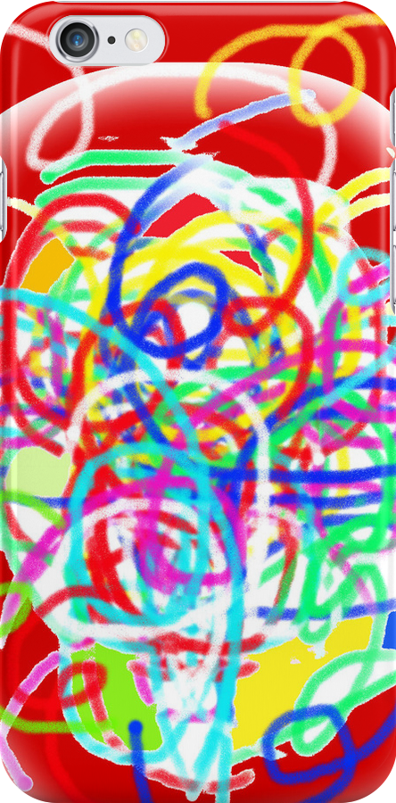 Tangle TEE/BABY GROW/PHONE CASE/STICKER by Shoshonan