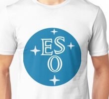 European Southern Observatory (ESO) Logo Unisex T-Shirt