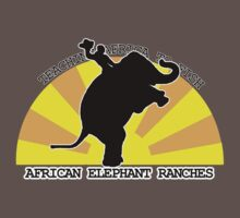 African Elephant Ranches One Piece - Short Sleeve