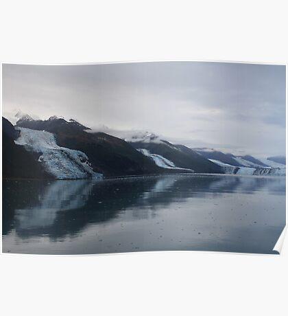Alaska Glaciers Poster