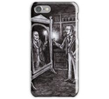 Dr. Jekyll and Mr. Hyde - Dark Mirror iPhone Case/Skin