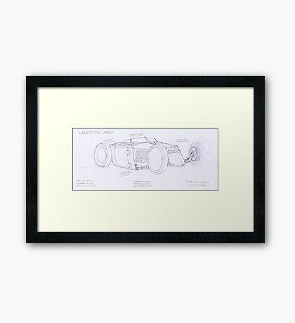 Lakester Aero Framed Print