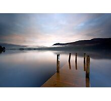 Misty Stillness Photographic Print