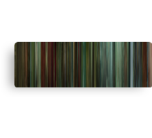 Moviebarcode: Shoot 'Em Up (2007) Canvas Print