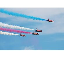 Red Arrows display team Photographic Print