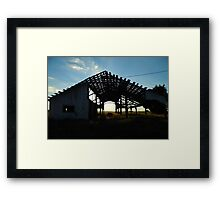 One Good Wind And Its Also Gone Framed Print