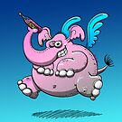 Delirium Tremens Elephant by Zoo-co