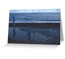 Magritte_Spirit of man 01 Greeting Card