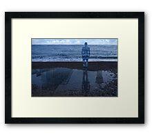 Magritte_Spirit of man 03 Framed Print