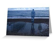 Magritte_Spirit of man 03 Greeting Card