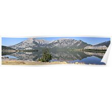 Rockies Reflections Poster
