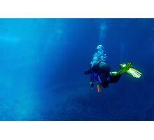 Scuba diving Photographic Print