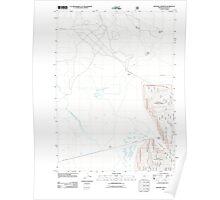 USGS Topo Map Oregon Military Crossing 20110808 TM Poster