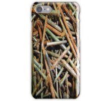 Rusty Nails iPhone Case iPhone Case/Skin