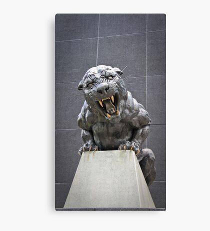 Bronze Panther Canvas Print