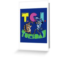 TGI Tuesday Greeting Card