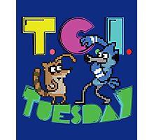TGI Tuesday Photographic Print