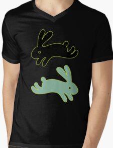 Bunny Honey Mens V-Neck T-Shirt