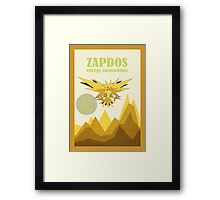 The Zapdos Energy Corporation Framed Print