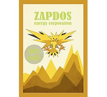 The Zapdos Energy Corporation Photographic Print